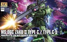 Bandai Gundam 1/144 Hg Ms-06C Zaku Ii Type C-5 Principality Of Zeon Mobile Suit