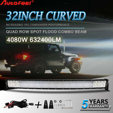 """Curved 32''inch LED Light Bar S&F Combo Beam For Truck GMC Dodge Ford 36"""""""
