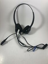 Plantronics HW261N Black Headband Headset. Used. Free Shipping!