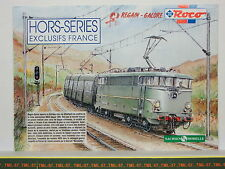 Catalogue ROCO SACHSENMODELLE - Hors Séries Exclusifs France - F - 1995 HO N 16p