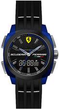 Scuderia Ferrari Mens Watch Black/dark Blue - 0830149