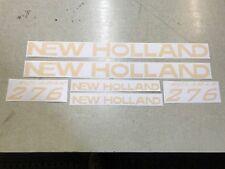 New Holland 276 Rake Decals