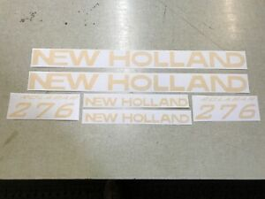 New Holland 276 Rake Decals