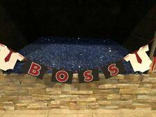 Handmade/customized - boss baby Party garland