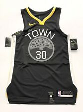 Nike VaporKnit NBA Authentic Warriors Steph Curry Jersey Men's 44 Medium AV2645