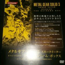 METAL GEAR SOLID 3 SNAKE EATER THE EXTREME BOX CROC CAP KUBRICK JP EXCLUSIVE