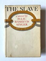 1962 SIGNED 1st Edition Isaac Bashevis Singer The Slave HCDJ