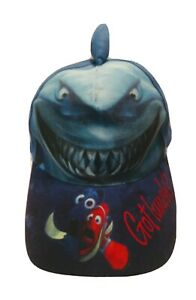 Finding Nemo, Dory and Bruce The Sharkwith FIN Disney Hat Cap Youth - Got Lunch