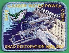 Pa Pennsylvania Fish Commission 97 BLUE EDGE Safe Harbor Shad Restoration Patch