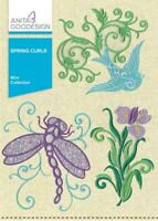 Spring Curls Anita Goodesign Embroidery Machine Design CD