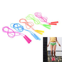 2.4M Wire Speed Skipping Jump Rope Adjustable Fitnesss Exercise Equipment   JC