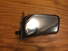Mercedes 300D Left Manual Side Door Mirror Chrome W123 OEM 123 811 03 61