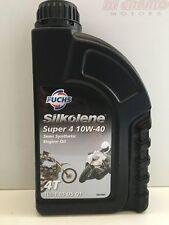 Olio Moto Silkolene SUPER 4 4T 10W 40 1 Lt Semisintetico