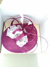 RRP £79 BNWTags Jacques Vert Silk /& Sinamay Pearl Pill Box Fascinator JRFB