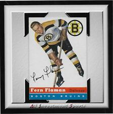 1954 Topps FERN FLAMAN #25 NM *tough hockey card for set* DD17