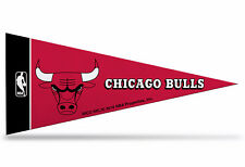 "New Chicago Bulls NBA Mini Pennant  9""x4"" Made in USA,banner,flag"