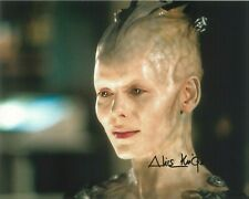 """Alice Krige """"Borg Queen"""" Star Trek: First Contact autograph with COA 10"""" by 8"""""""