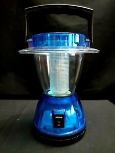 """Lantern Portable LED Battery Operated Camping Light Lamp Home Emergency 6-1/4"""" T"""