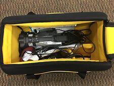 GENUINE Canon DM-GL2A MiniDV Professional Camcorder with Accessories  Black Bag