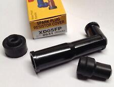 """8641 NGK """"X"""" Style Spark Plug Cap 5K Ohm Waterproof Heat Resistant XD05F XD05FP"""