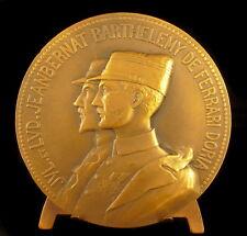Médaille aux frères Jeanbernat Barthélémy de Ferrari Doria 1918 mort pro Patria