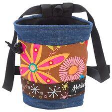Metolius Bop Chalk Bag for Rock Climbing NEW w/tags MSRP $23 Denim #2 Blue