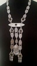 Turkish Made Silver Plated Necklace S1494B