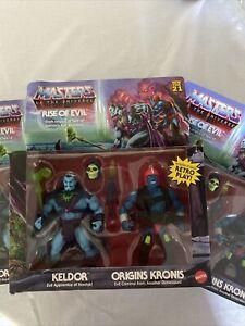 Masters Of The Universe Exclusive 2pk-Keldor & Origins Kronis ! SHIPS NOW TODAY!