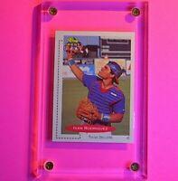 1991 Classic Best #136 Ivan Rodriguez Texas Rangers HOF RC Rookie