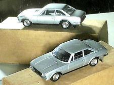 PEUGEOT 504 coupé 1980 SOLIDO gris métal
