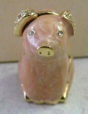 Estee Lauder 1996 PIG HEAVEN Perfume Solid - Gold Metal / Las Vegas Exclusive