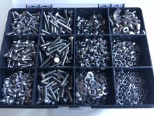 Assorted m4 Kit Stainless Steel Nuts and Bolts Washers Screws a2-304 Box 2040pcs
