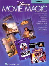 Disney Movie Magic Trumpet Instrumental Solos Instrumental Folio NEW 000841175