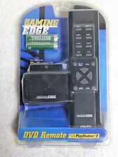 "NEW Play Station 2 ""Gaming Edge"" DVD Wireless Remote DVD Player Controller"