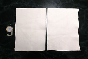 White Leather Scraps Leather offcuts Remnants Sheets Goatskin Sheep