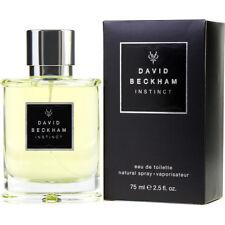 DAVID BECKHAM INSTINCT 75ml EDT SPRAY FOR MEN BY DAVID BECKHAM ----- NEW PERFUME