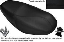 BLACK STITCH CUSTOM FITS SYM DD 50 DUAL LEATHER SEAT COVER ONLY