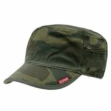 CAMO ARMY MILITARY GI BDU ZIPPER POCK PATROL CAP HAT WC