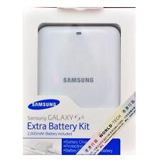 Genuine Samsung EB-K600BEW 2600mAh Extra Battery Charging Kit Galaxy S4 IV i9500