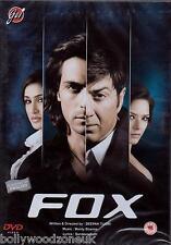 FOX - SUNNY DEOL - ARJUN RAMPAL - BRAND NEW BOLLYWOOD DVD