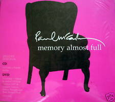 PAUL Mc CARTNEY - Memory Almost Full CD + DVD Limited Edition NEW