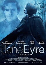 Jane Eyre movie poster: 11 x 17 inches Mia Wasikowska, Michael Fassbender poster