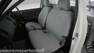 Toyota Hilux Front Canvas Seat Covers Bucket Bench Seats Workmate GENUINE NEW*