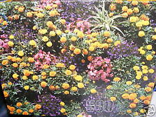 500Pc Jigsaw Puzzle Flower Garden Chartres France 14x18