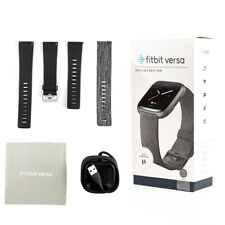Fitbit Versa SE Special Edition Smartwatch Fitness Activity Tracker Woven Band