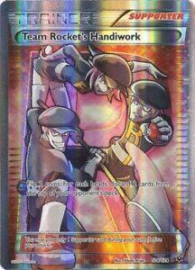Team Rocket's Handiwork 124/124 Fates Collide - Ultra Rare Pokemon Full Art NM