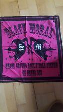 The GazettE Bandana Black Moral pink Merchandise