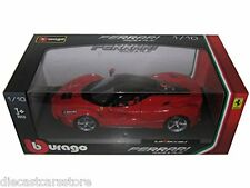 BBURAGO SIGNATURE SERIES 16901 FERRARI LaFERRARI F70 NEW ENZO 1/18 DIECAST RED