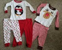 KOALA KIDS Mix and Match Holiday Cotton Pajama Set Size 12 months
