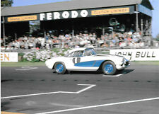 ROY WINKELMANN CHEVROLET CORVETTE 1962 GOODWOOD TOURIST TROPHY TT DAN M COLLINS